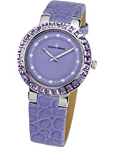 Jacques Lemans Analog Purple Dial Women's Watch - 1-1779C