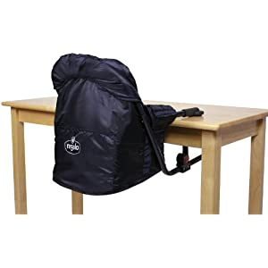 Regalo Easy Diner Portable Hook On Highchair- Navy