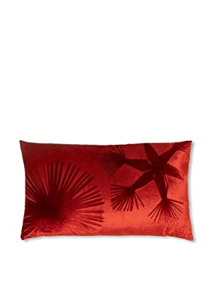 Aviva Stanoff Double Sunburst on Red on Velvet