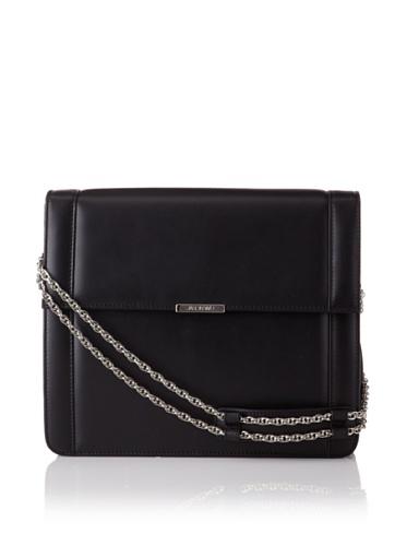 Jason Wu Women's Structured Leather Shoulder Bag, Black