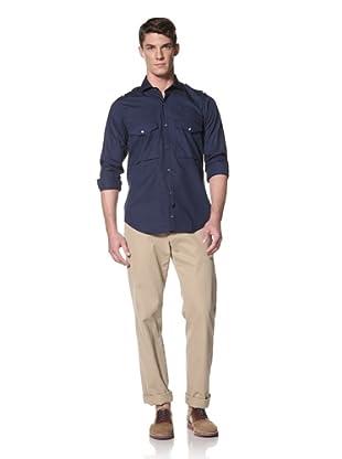 Simon Spurr Men's Safari Shirt (Navy)