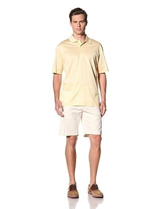 Bobby Jones Men's Stripe Polo (Yellow)