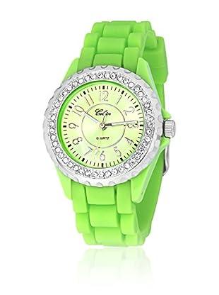 SHINY CRISTAL Uhr mit Japanischem Uhrwerk   35  mm