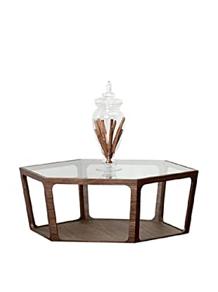 Abbyson Living Parkerview Walnut Coffee Table