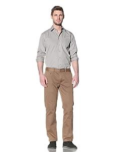 Just A Cheap Shirt Men's Bobby Chino Pants (Brown)