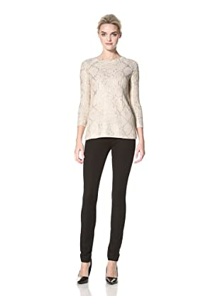 Dex Women's Snake Foil Sweater (Gold Snake Foil)