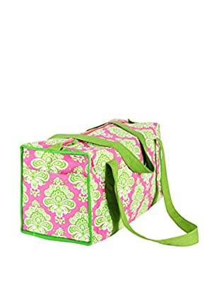 Malabar Bay Istanbul Duffle Bag, Pink and Lime
