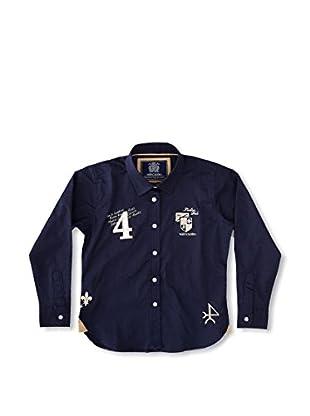 Valecuatro Camisa Junior Escudos (Azul Marino)