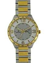 Maxima Gold Analog Multi-Colour Dial Men's Watch - 32062CMGT