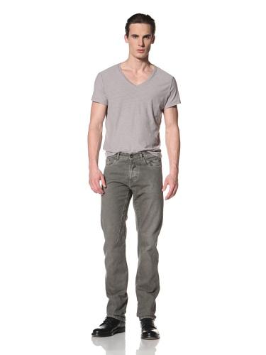 Rick Owens DRKSHDW Men's Berlin Cut Pant (Dark Dust)