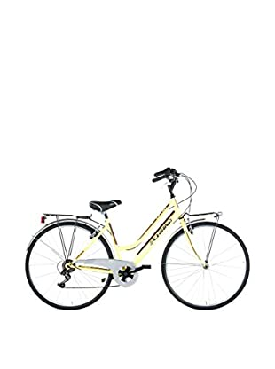 Schiano Cicli Bicicleta 28 Trk City Joy Amarillo