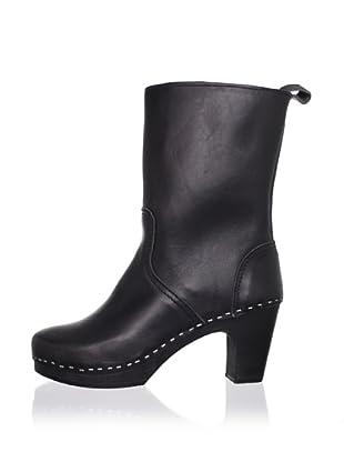 Swedish Hasbeens Women's Boot Classic (Black/black)