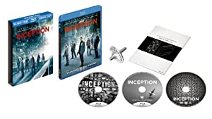 インセプション Blu-ray & DVDセット プレミアムBOX