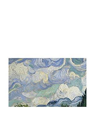 Legendarte Lienzo Campo Di Grano Coi Cipressi di Vincent Van Gogh