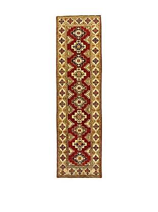 L'EDEN DEL TAPPETO Alfombra Uzebekistan Rojo/Multicolor 84 x 295 cm
