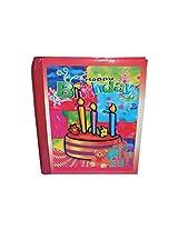 Weishijie reusable paper - 2000 photo album(24cmx2cmx29cm,Red)