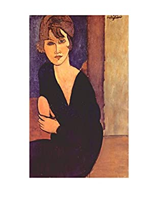 LegendArte  Wandbild Das Bildnis Madame Reynouard von Amedeo Modigliani