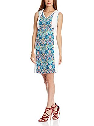 Almatrichi Vestido Mares Azul ES 38