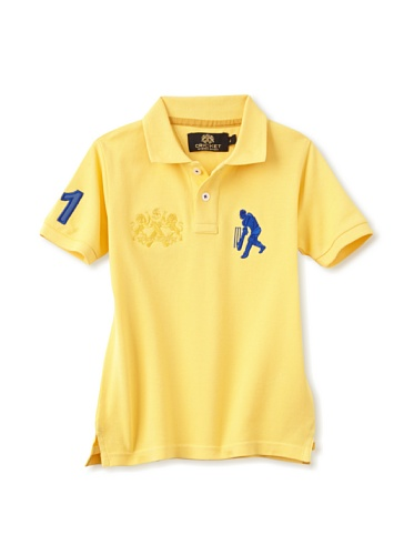 Sher Singh Boy's Classic Polo (Yellow)
