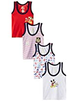 First Baby Boy's Mickey Underpants (Pack Of 4)