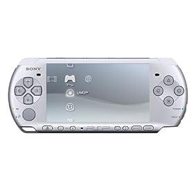 PSP「プレイステーション・ポータブル」ミスティック・ シルバー(PSP-3000MS)(仮称)