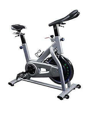 Endurance Indoor Exercise Bike, Silver/Black
