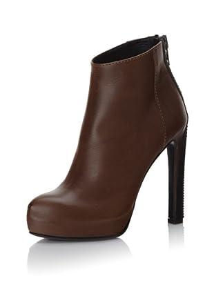Haider Ackermann Women's Platform Zipper Boots (Tobacco)
