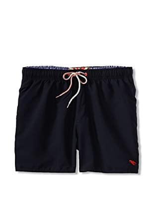 Ted Baker Men's Shorrti Fashion Swim Trunks (Navy)