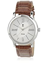 Ds 2112 Br01 Brown/White Analog Watch