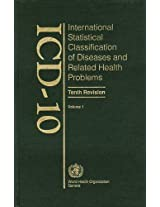 ICD-10 International Statistical Classification of Diseases and Related Health Problems: Tabular List Volume 1: 001