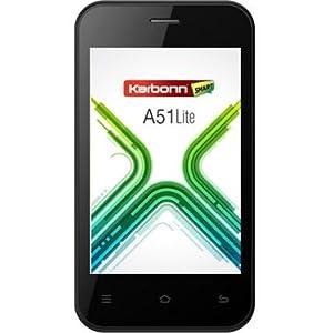 Karbonn A51 Lite Dual Sim Android Mobile Phone - BLACK