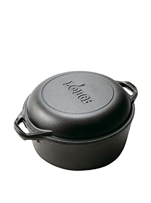 Lodge 5-Qt. Double Dutch Oven and Casserole with Skillet Cover