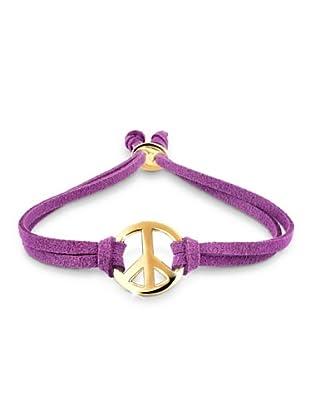 Elli Armband Peace violett