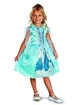 Disguise Disney Cinderella Sparkle Classic Girls Costume, 4-6X