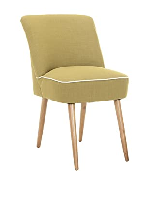 Safavieh Set of 2 Otis Dining Chairs, Sweet Pea Green