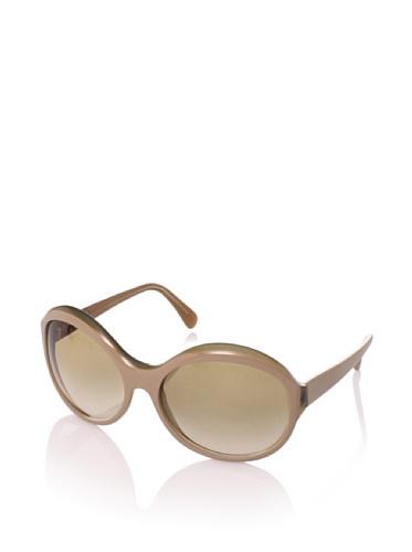 MARNI Women's MA095S Sunglasses, Sand/Opaline