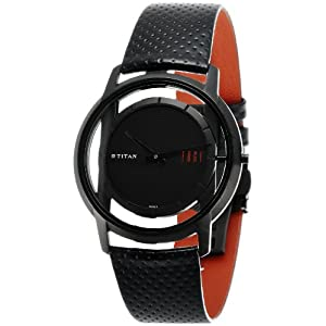 Titan Edge Analog Black Dial Men's Watch - ND1577NL01A