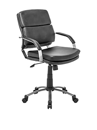 Zuo Director Relax Office Chair, Black