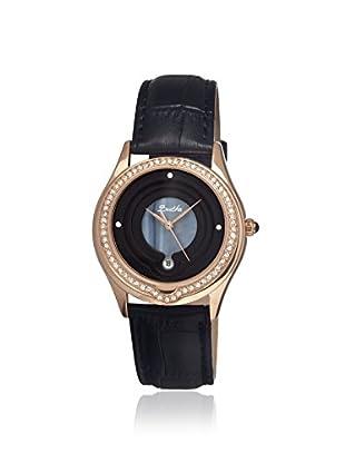 Bertha Women's BR4106 Patricia Black Leather Watch