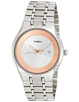 Timex Fashion Analog Silver Dial Men's Watch - TI000N10100