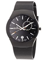 Skagen Analog Black Dial Men's Watch - 983XLBB