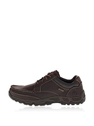 Rockport Zapatos Casual Impermeable Heights Low (marrón oscuro)