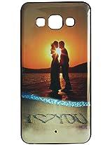 Vcare Shoppe Designer Printed Back case cover for Samsung Galaxy E5 - I LOVE YOU