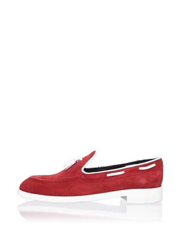 Swear Women's Vienetta 8 Tassel Loafer (Red)