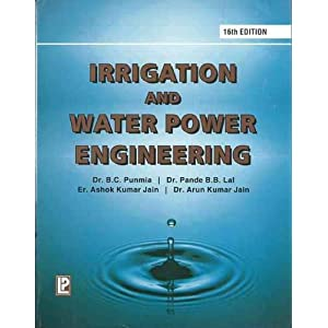 Irrigation and Water Power Engineering
