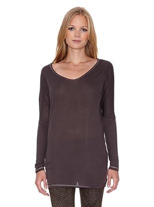 Mila Brant Camiseta Zina (Marrón)