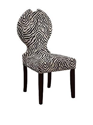 Bassett Mirror Company Raja Zebra Print Chair