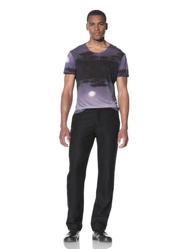 JUMA Men's Slim Fit Pant (Black)