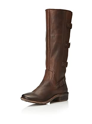 Kickers Women's Groovy Boot (Brown Leather)