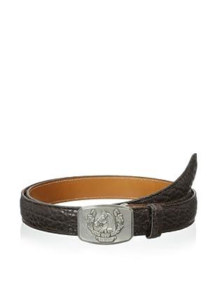 Trafalgar Men's Bison Belt (Brown)
